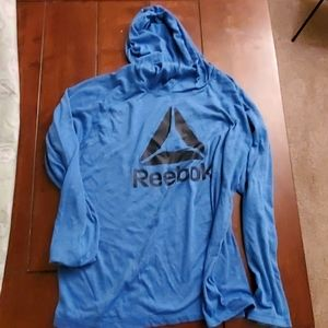 Reebok Long Sleeve Hooded Tshirt